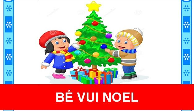 Bé vui Noel