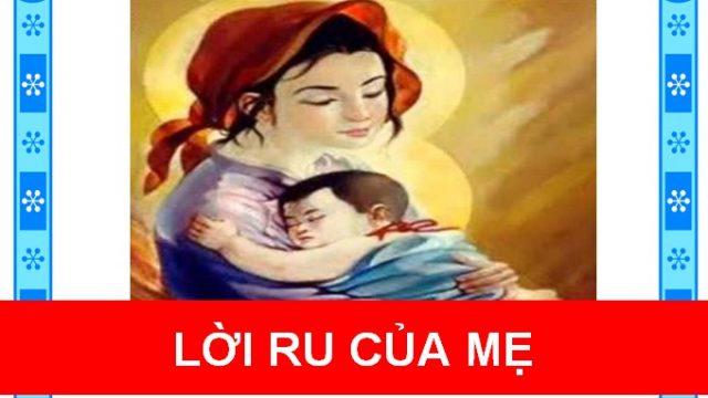 Lời ru của mẹ
