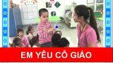 Em yêu cô giáo