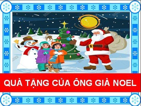 Quà tặng của ông già Noel