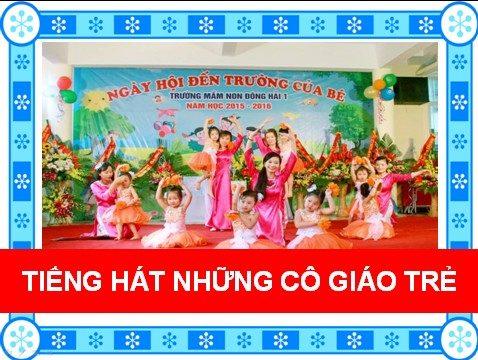 Tiếng hát những cô giáo trẻ