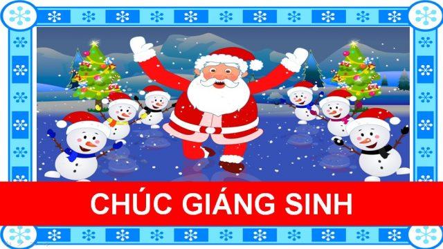 Chúc Giáng Sinh