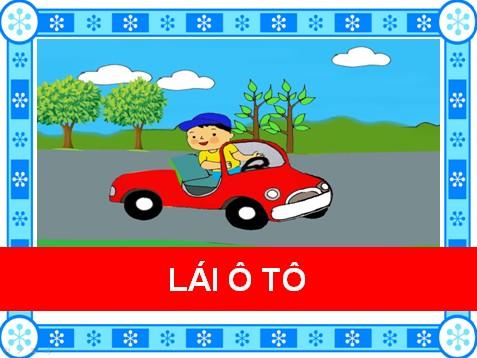Lái ô tô