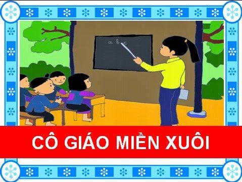 Cô giáo miền xuôi